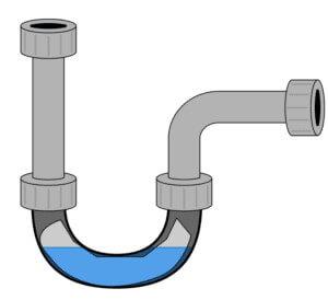 U型隔氣彎管