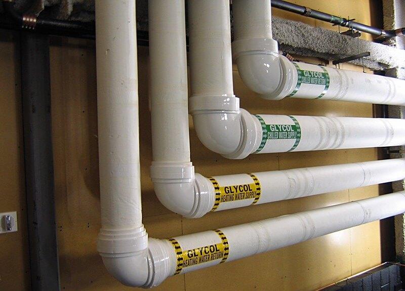 通渠水 會使塑料 PVC 管變軟